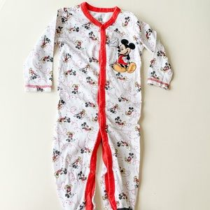 Disney Mickey Mouse One Piece Button-Up